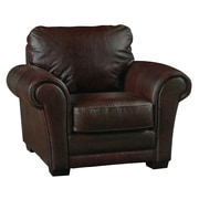 Luke Leather Mark Club Chair