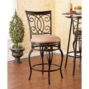 Southern Enterprises Maguire Swivel Counter Stool (BC1165)