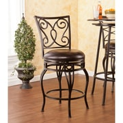 Southern Enterprises Hanover Swivel Counter Stool (BC1175)