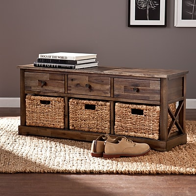 Southern Enterprises Jayton Storage Bench (BC6851)
