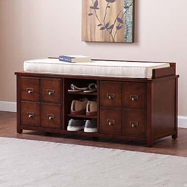 Southern Enterprises Large Apothecary Storage Bench (BC9472)