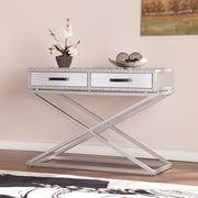 Southern Enterprises Lazio Medium Density Fiberboard Console Table, Silver, Each (CK4813)