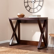 Southern Enterprises Derby Medium Density Fiberboard Console Table, Espresso, Each (CM3513)
