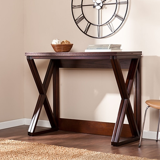 Southern Enterprises Derby Medium Density Fiberboard Console Table, Espresso, Each (CM3513)