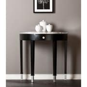 Southern Enterprises Starling Medium Density Fiberboard Accent Table, Black, Each (CM9178)