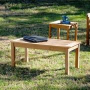 Southern Enterprises Teak Coffee Table (CR4501)