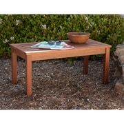 Southern Enterprises Beagan Hardwood Cocktail Table, Oil Finish (CR4505)