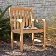 Southern Enterprises Gentry Teak Arm Chair (CR5679)