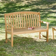 Southern Enterprises 4' Teak Bench (CR6704)