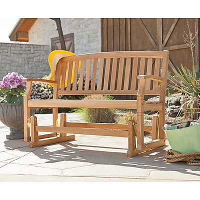 Southern Enterprises Gideon Teak Glider Bench (CR6712)