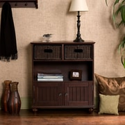 Southern Enterprises Chelmsford Wood Console Table, Espresso, Each (HE4009R)