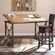 SEI 51.5u0027u0027Lx32.75u0027u0027D Rectangular Drafting Table, Oak