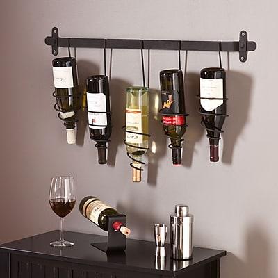 Southern Enterprises Almeria Wall-Mount Wine Rack (HZ1002)