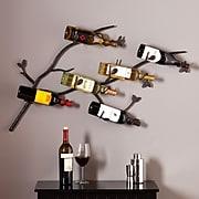 Southern Enterprises Brisbane Wall-Mount Wine Rack (HZ1005)