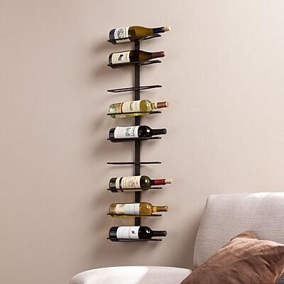 Southern Enterprises Botella Wall-Mount Wine Rack (HZ1022)