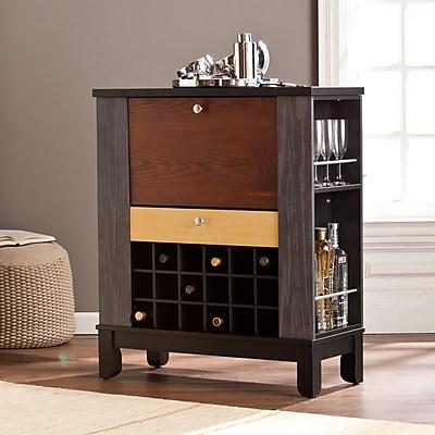 Southern Enterprises Warren Wine/Bar Cabinet (HZ1048)