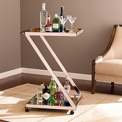 Southern Enterprises Rizer Bar Cart (HZ2042)