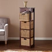 Southern Enterprises Kenton 4-Basket Storage Tower (HZ6755)