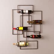 Southern Enterprises Valier Wall-Mount Wine Sculpture (HZ7068)