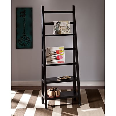 Southern Enterprises Anywhere Storage/Display Ladder, Black (HZ7502)