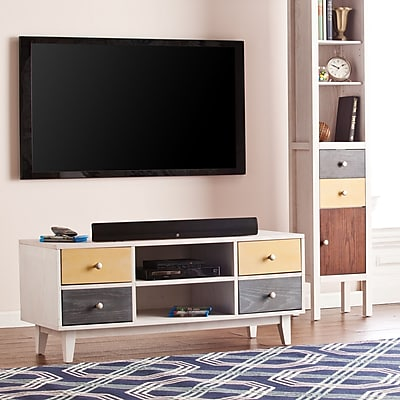 Southern Enterprises Cadman 4-Drawer TV/Media Stand (MS8725)