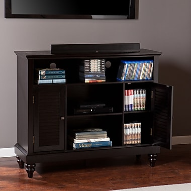 Southern Enterprises Louvered-Door TV/Media Cabinet (MS9933)