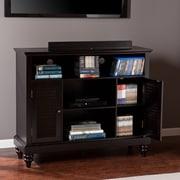 Southern Enterprises Louvered-Door TV/Media Cabinet (MS9933)