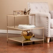 Southern Enterprises Knox Metal Accent Table, Gold, Each (OC2205)