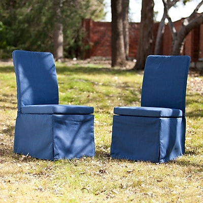 Southern Enterprises Aragon Outdoor Side Chairs, 2 Pieces/Set (OD1061)