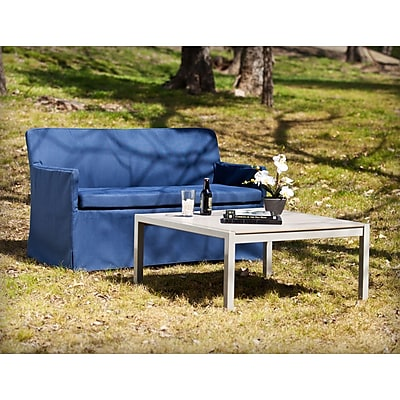 Southern Enterprises Aragon Outdoor Cocktail and Loveseat, 2-Piece Set (OD1064)