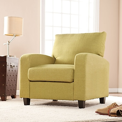 Southern Enterprises Kennedale Arm Chair, Apple Green (UP9111)
