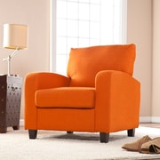 Southern Enterprises Kennedale Arm Chair, Orange (UP9115)