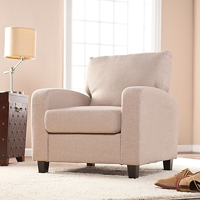 Southern Enterprises Kennedale Arm Chair, Oyster (UP9116)