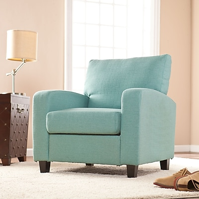 Southern Enterprises Kennedale Arm Chair, Turquoise (UP9117)