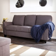 Holly & Martin Plushen Sofa, Anthracite (UP9423)