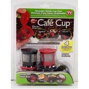 Cafe Cup – Dosette Café Cup réutilisable, paq./4