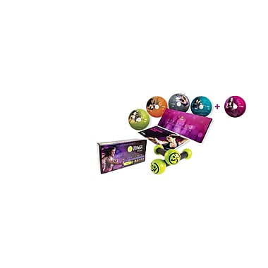 Zumba Exhilarate Body Shaping System, 5 Disc DVD Collection