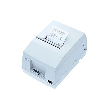 Epson TM-U325D-921, Dot Matrix Receipt & Validation Printer, Ethernet (Ub-E03), Epson Cool White, Power Supply Included