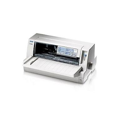 Epson Lq-680, Pro Dot Matrix Printer, 24 Pin, Narrow, Parallel, 240Dpi, 64Kb Memory, Front Loading