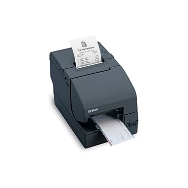 Epson TM H2000, Micro, Serial & USB, Epson Dark Grey, Includes Power Supply, Energy Star Compliant