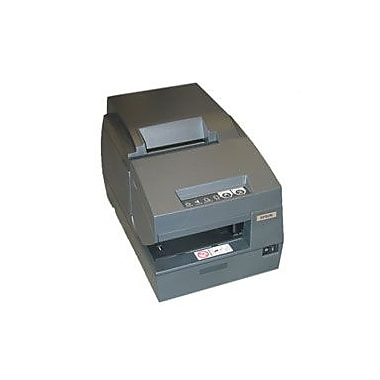 Epson TM-U675, Dot Matrix Receipt, Slip & Validation Printer, Serial, Epson Dark Grey, Micr, No Autocutter, Requires Power Sup