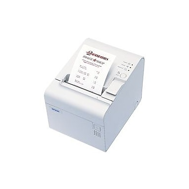 Epson TM-L90P-014, Thermal Label Printer, Parallel, Epson Cool White, with Label Software Cd, Includes Power Supply