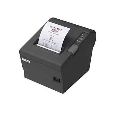 Epson TM-T88 Restick, 80mm, Thermal Receipt Printer, Serial Interface, Epson Dark Grey, 2 Colour Capable, PS-180 Not Included