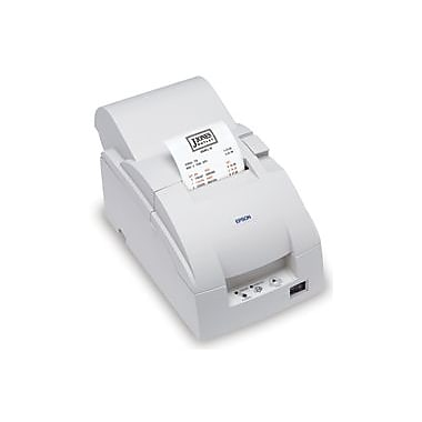 Epson TM-U220B, Dot Matrix Receipt Printer, Parallel with Annunciator, Epson Cool White, Autocutter, Power Supply Included