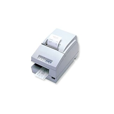 Epson TM-U675P, Dot Matrix Receipt, Slip & Validation Printer, Parallel, Epson Cool White, Micr, Autocutter, Requires Power Su