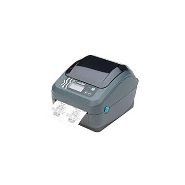 Zebra Printer, GX420d, DT, 203dpi, US Cord, Epl2, Zpl Ii, USB, Serial, Ethernet, 64mb Flash, RTC, Adjustable Black Line Sensor
