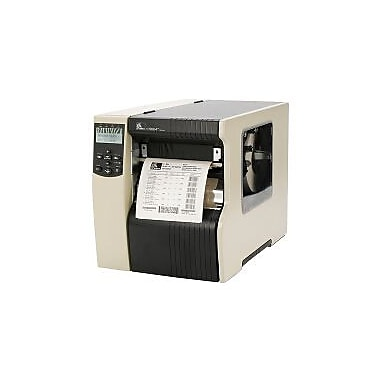 Zebra 170XI4, 300dpi, Serial, Parallel, USB 2.0, Internal Zebranet 10/100 Print server, NA Edition Power Cord, Rewind with Peel