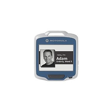 Zebra Enterprise Sb1 Smart Badge, Healthcare Black, Std, E Ink Display, Omni Directional 1d/2d Scanning, 802.11 B/g/n, World W