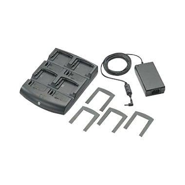 Zebra Enterprise MC70, MC75, & MC3100 4-slot Battery Charger Kit, Includes Sac7x00 4000cr, & Power Supply Pwrs-14000-148r