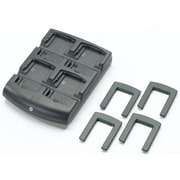 Zebra Enterprise MC70, MC75, & MC3100 4-slot Battery Charger Requires Power Supply Kt 14000 148r, & US AC Line Cord 23844